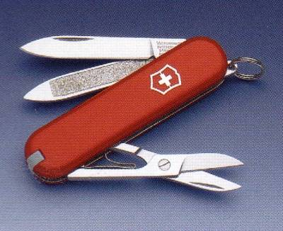 RED CLASSIC MULTI-TOOL VICTORINOX POCKET-KNIFE