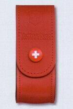 RED LEATHER SHEATH