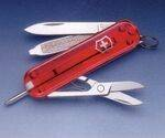 RED TRANSPARENT SIGNATURE MULTI-TOOL VICTORINOX POCKET-KNIFE