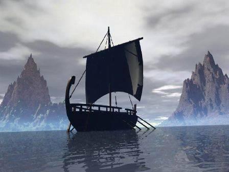 Viking boat or ship