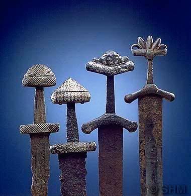 Anciente viking swords