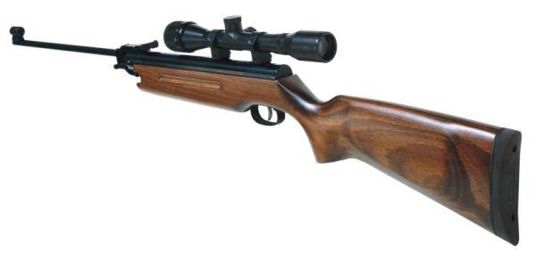 Weihrauch HW 35 airgun prepared for long distance shots