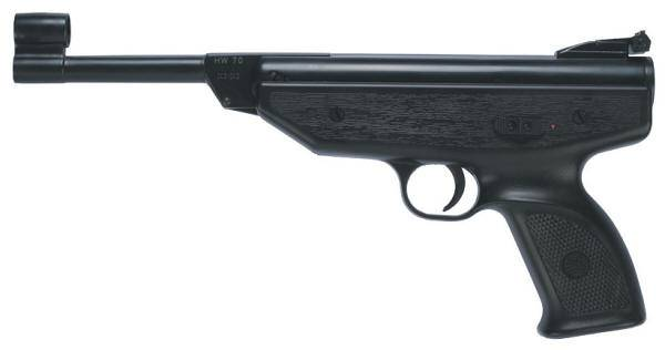 Weihrauch HW 70 break barrel air pistol.