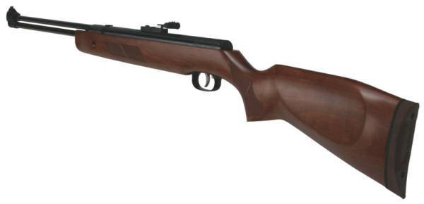 Weihrauch HW 57 airgun with chequered slip grip.