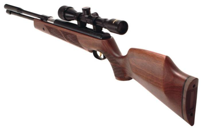 Weihrauch HW 97 K air rifle with safety load system.