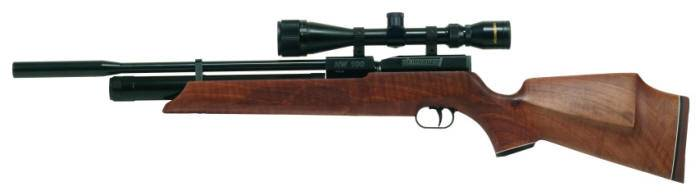 Weihrauch HW 100 S PCP airgun. Precompressed air rifle.