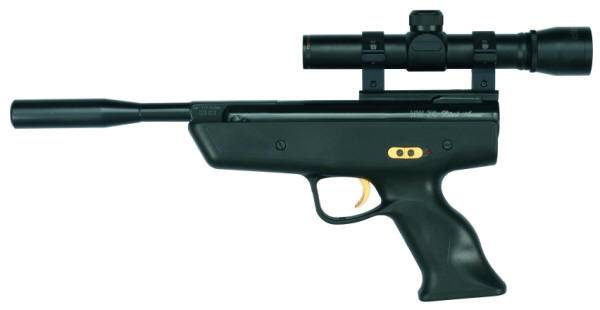 Weihrauch HW 70 Black Arrow spring airgun.