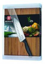 SANTOKU SET WITH BAMBOO BOARD