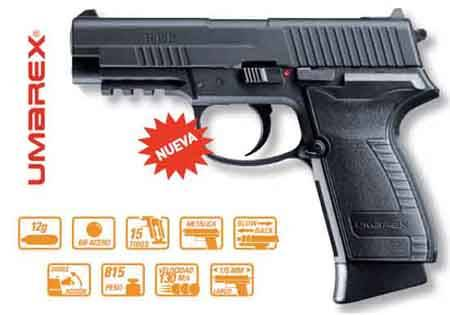 UMAREX AIR COMPRESSED PISTOL