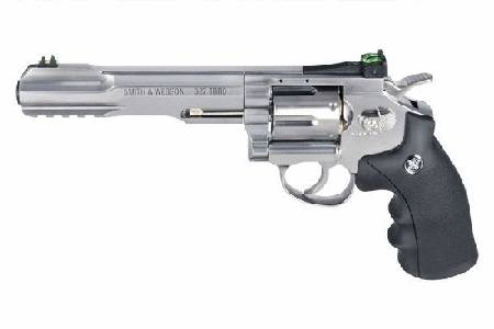 Co2 Smith & Wesson Revolver model 327 TRR8 Steel Finish