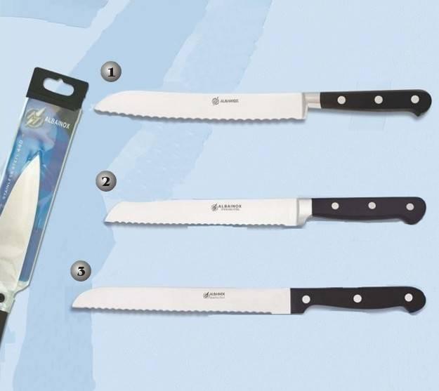 Cuchillos de cocina paneros martinez albainox for Cuchillos cocina profesionales