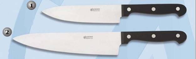 Cuchillos profesionales martinez albainox 17186 y 17187 for Cuchillos cocina profesionales