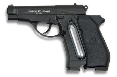 Pistola M84.
