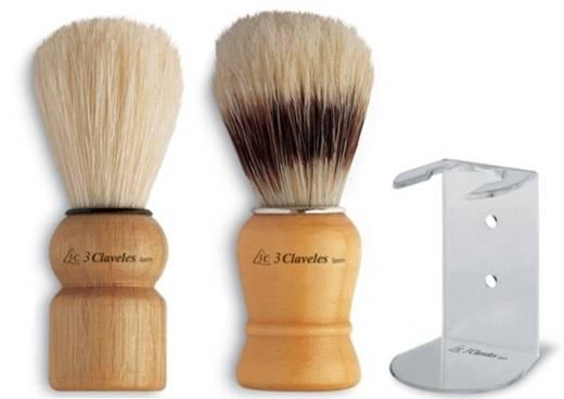 Brochas de afeitar 3 claveles