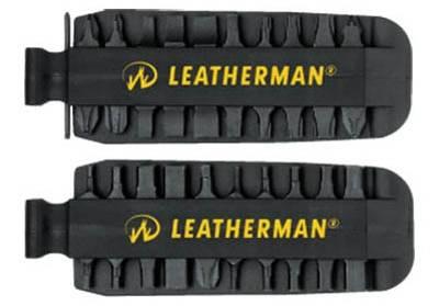 Bit kit Leatherman conjunto de puntas de acero recubierto de cinc para evitar la corrosion.