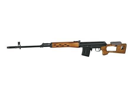 Rifle francotirador CI DRAGUNOV SVD