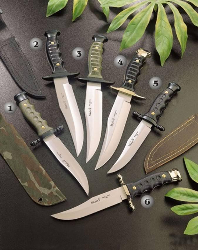 Cuchillos muela con el mango de zamak