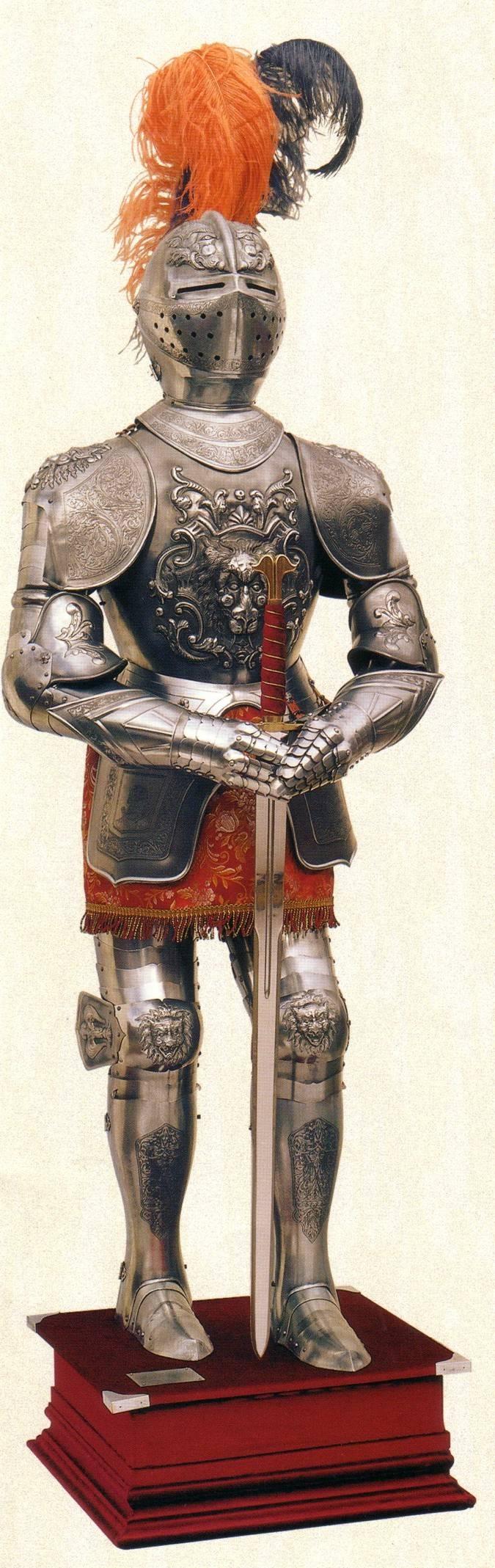 Armadura Medieval. Armadura historica