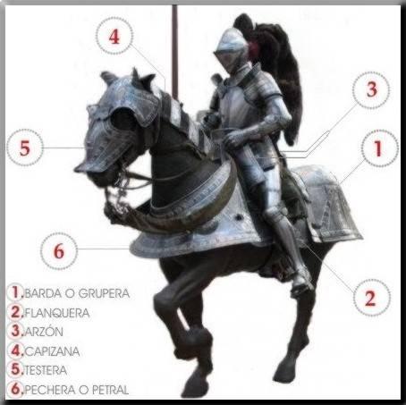 Caballo medieval