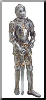 Caballero y armadura medieval