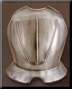 Peto de una armadura medieval
