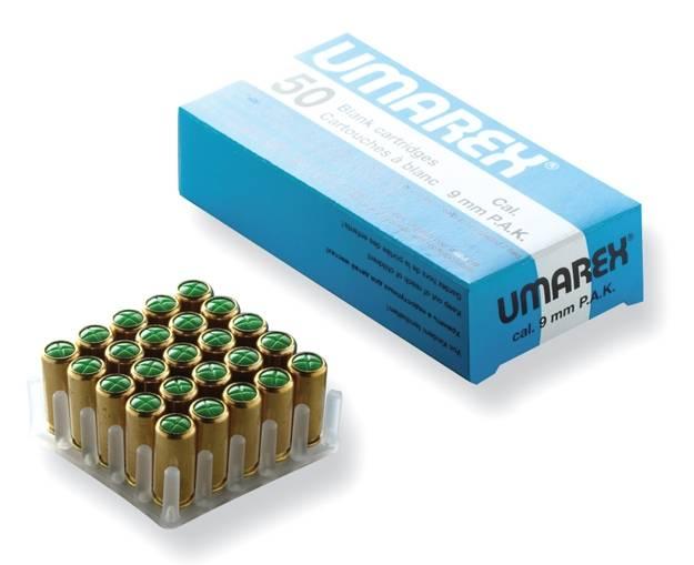 Caja de 50 unidades de balas de fogueo