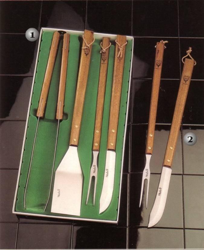 Cuchillos Muela Set Barbacoa