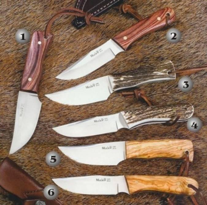 Cuchillo Muela Bison y cuchillo Muela Orix fabricados con acero 440