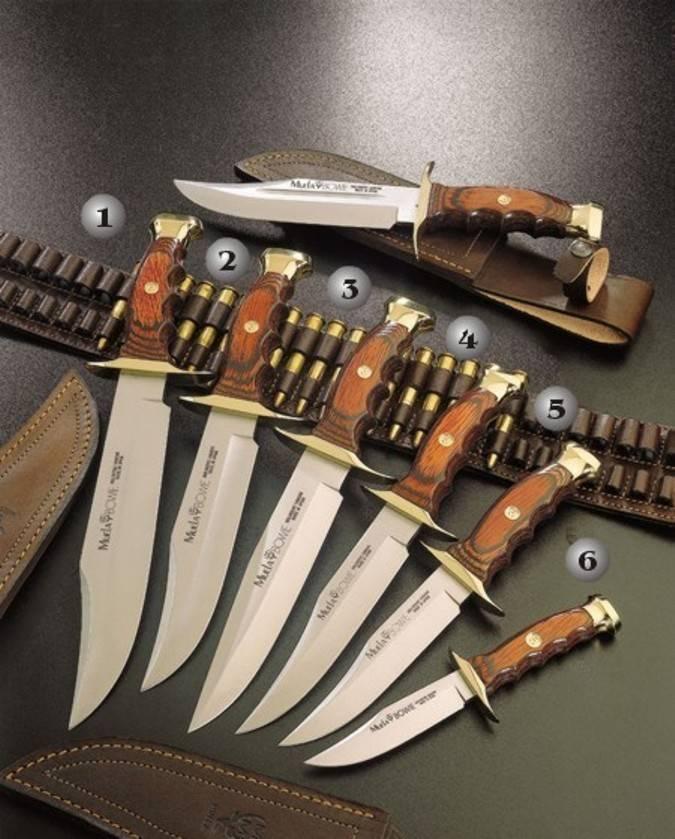 Cuchillo bowie Muela