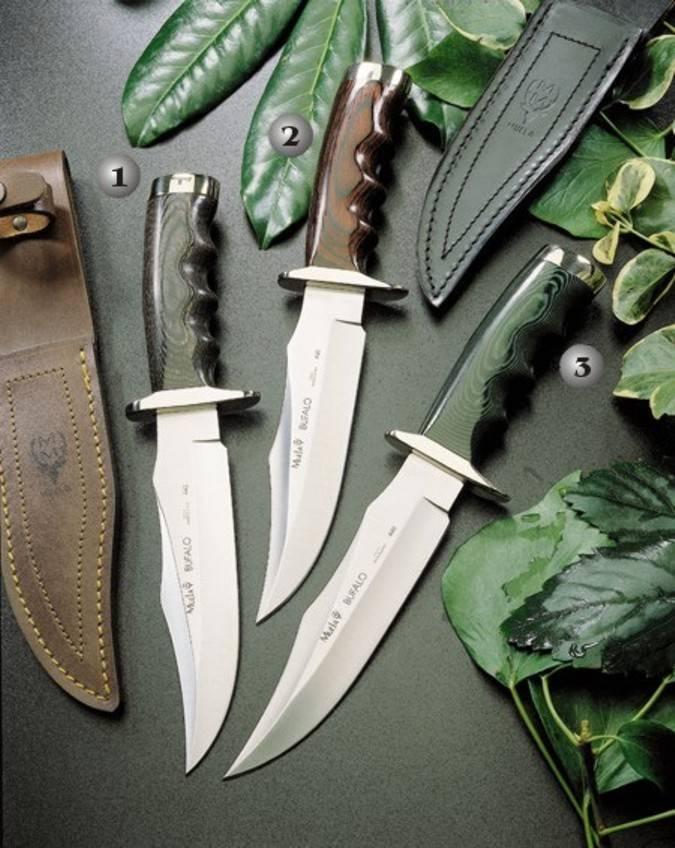Cuchillos de monte bufalo Muela