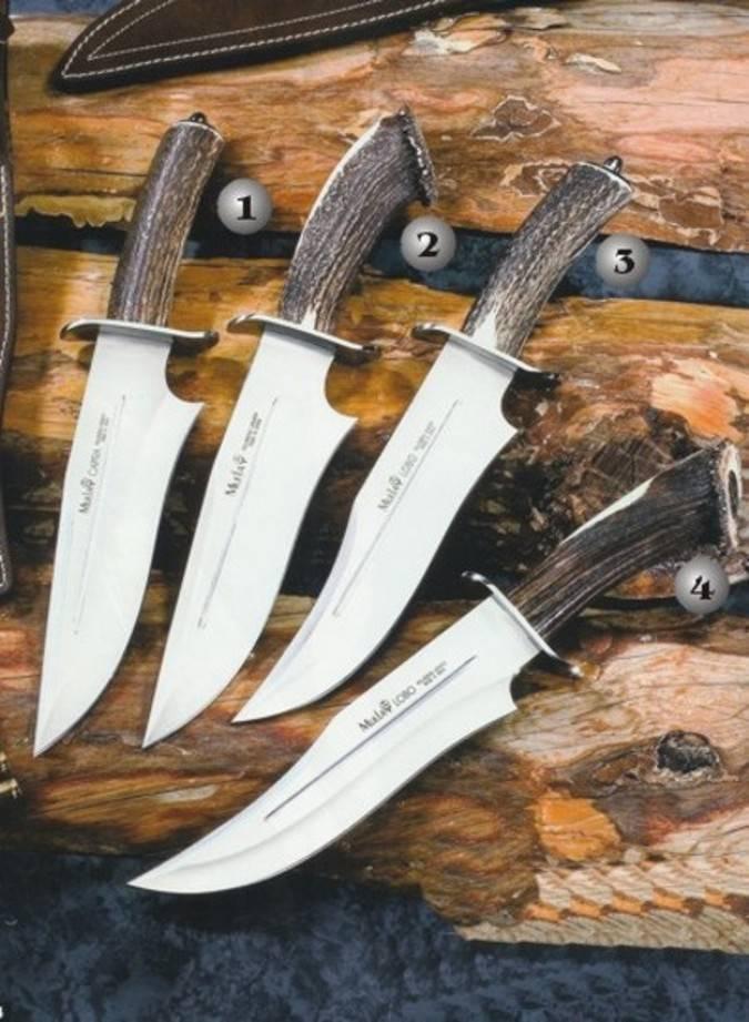 Cuchillos Capra y Lobo Muela