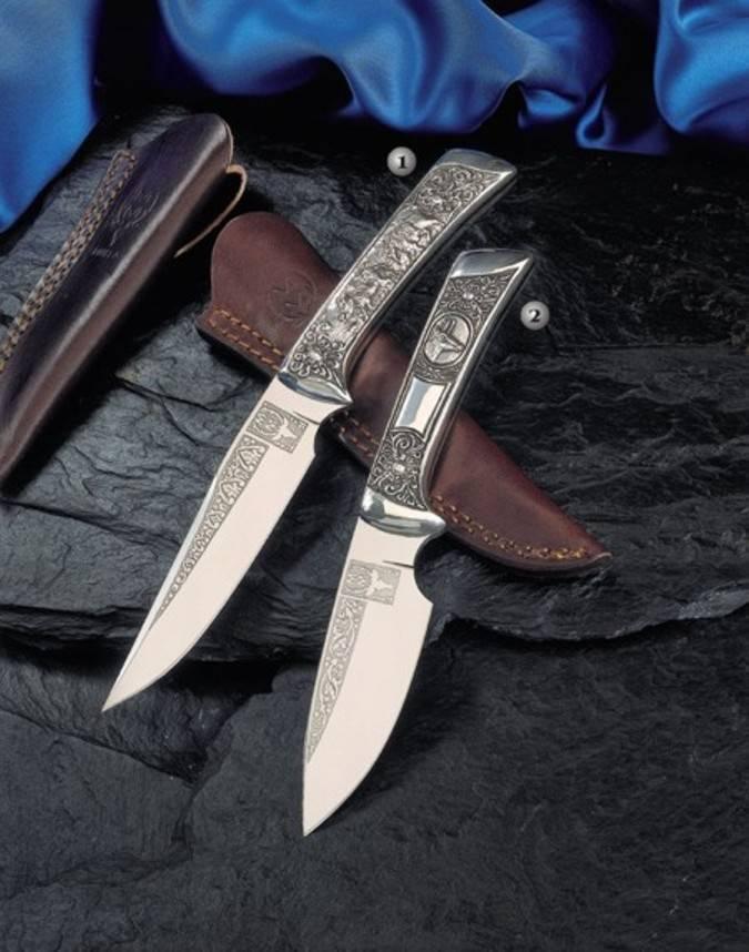 Cuchillos de lujo Caprice y Rebeco