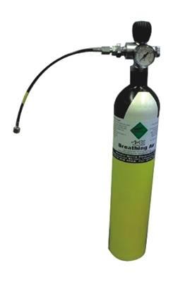Botella de gas para rellenar depósitos de PCP
