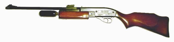 Carabina de aire comprimido Gamo G-1200 Magnum.