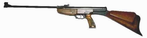Pistola de aire comprimido Gamo 85.