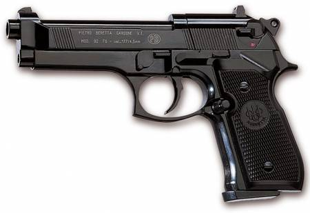 Pistola Beretta de aire comprimido