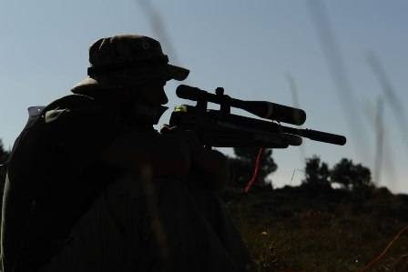 Las carabinas de aire comprimido son muy utilizadas para praticar tiro