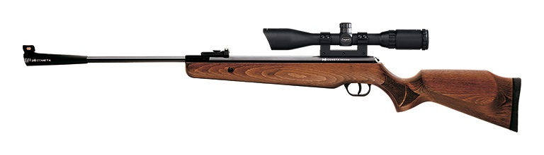 Cometa Fenix 400 Combo air rifle Pack with wood stock and precision barrel.