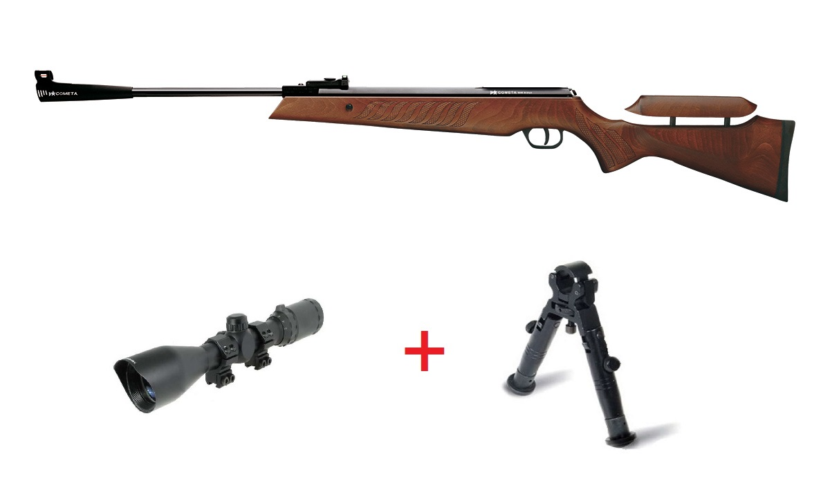 Cometa Fenix 400 Star Sniper Pack air rifle with adjustable stock. Cometa airguns.