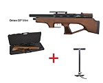 Wood Orion Bull Pup Mini Cometa PCP + Hill Pump airgun pack