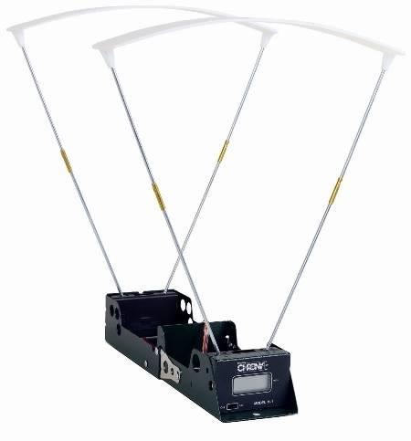 Cronógrafo Cometa medidor de disparos de  balines automático.