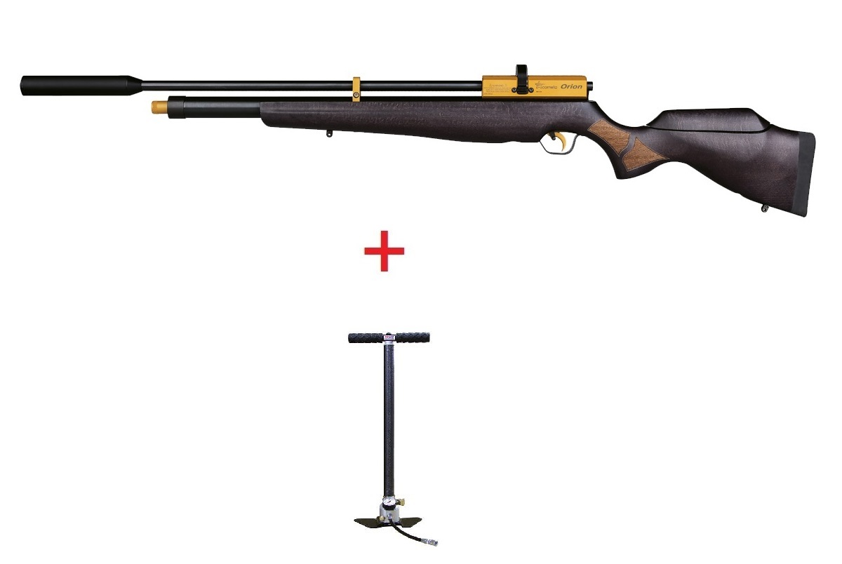 Orion Gold Cometa PCP airgun + Hill MK4 Pump