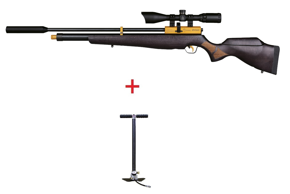 Orion Gold Cometa PCP airgun + Hill MK4 Pump + Scope