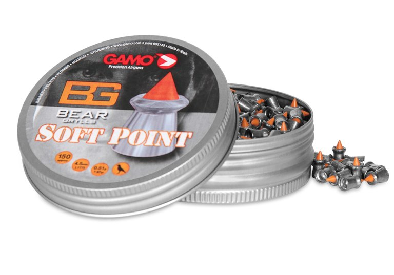 Balin Gamo Soft Point 4´5 150 unidades para carabinas y pistolas.