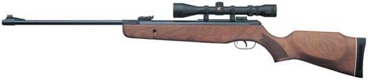 Carabina Combo Hunter 440, de alta prestaciones y hecha con madera seleccionada