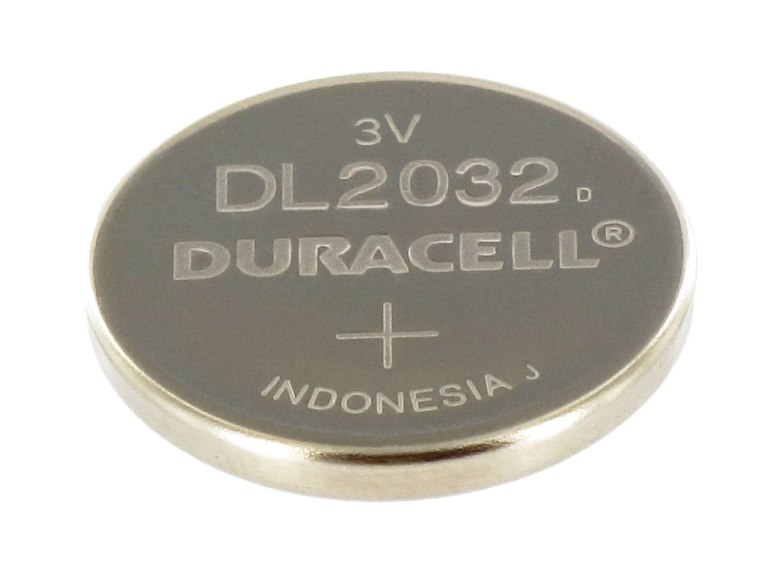 Pila de Litio Duracell DL2032 para Micro y Hunter