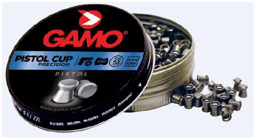 GAMO PISTOL-CUP PELLETS FOR  AIRGUM PISTOL