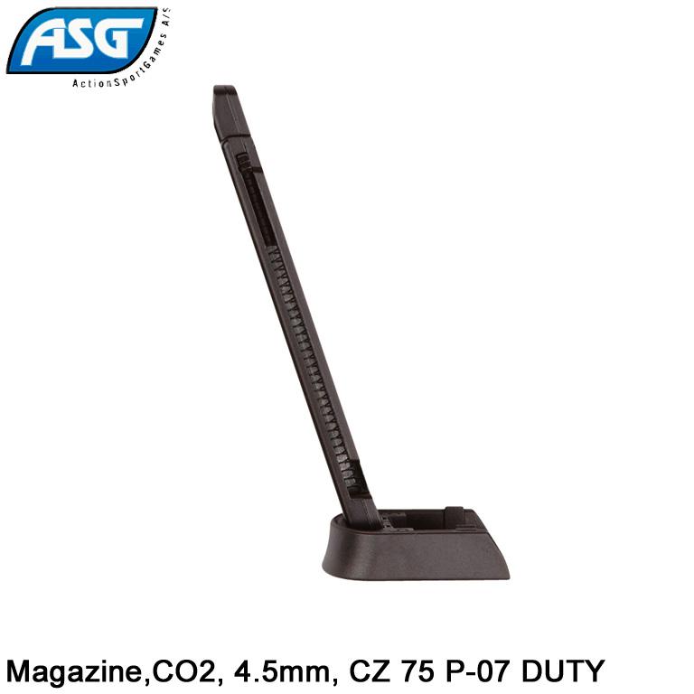 Cargador de pistola aire comprimido y bolas BBs ASG Sti Duty CZ 75 P-07