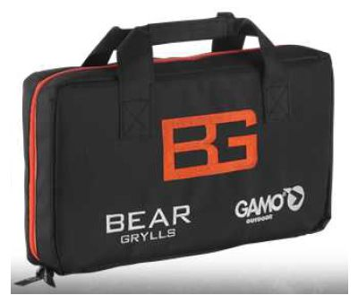 Funda pistola Gamo Bear Grylls de cordura con cremallera