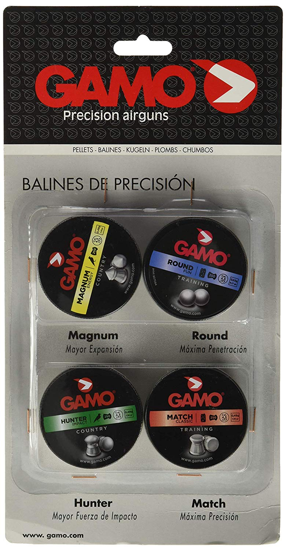 Balines Gamo kit 4 latas pernetración